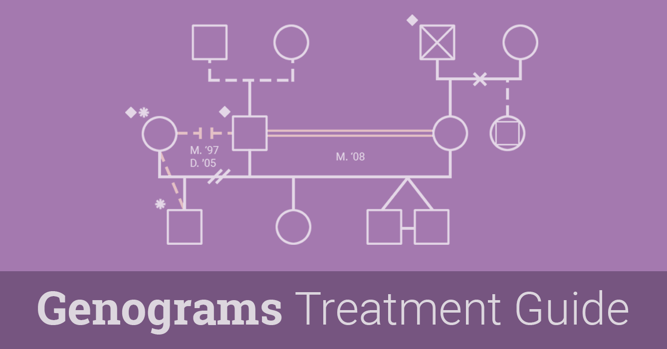 Genograms For Psychotherapy Guide Therapist Aid