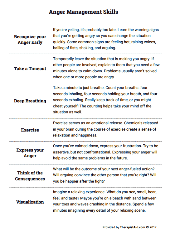Emotion Regulation Skills: PLEASE Worksheet | PsychPoint