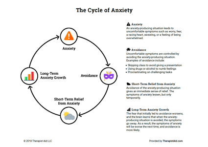The Cycle of Anxiety Preview