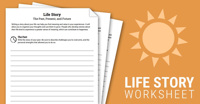 Life story worksheet therapist aid ibookread PDF