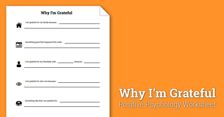Worksheets Gratitude Worksheets why im grateful worksheet therapist aid